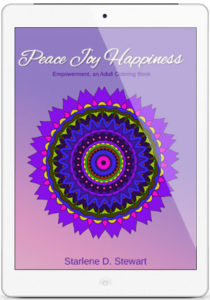 Peace Joy Happiness Coloring Book