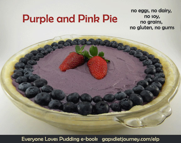 Purple and Pink Pie